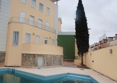 piscina Colegio Mayor Moncloa