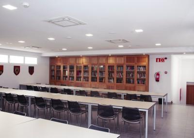 sala de estudio colegio mayor moncloa