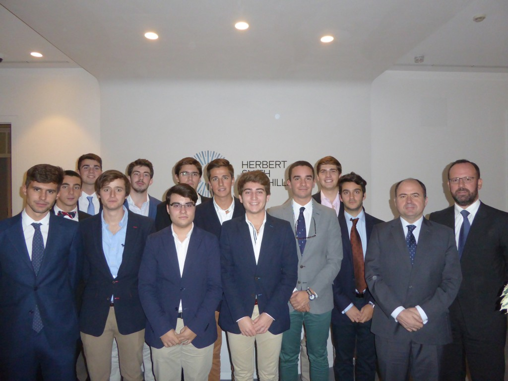 visita al despacho Herbert Smith Freehills- Colegio Mayor Moncloa