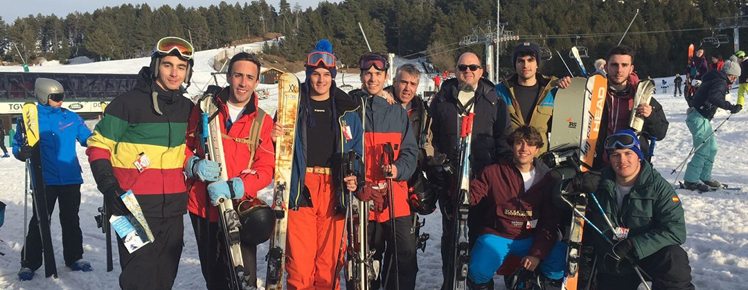 Convivencia de esquí 2017
