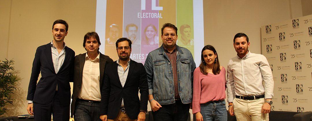 Debate electoral en el Colegio Mayor Moncloa