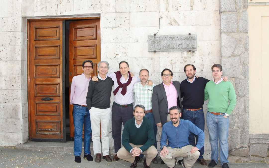 Reviviendo recuerdos en el Colegio Mayor Moncloa