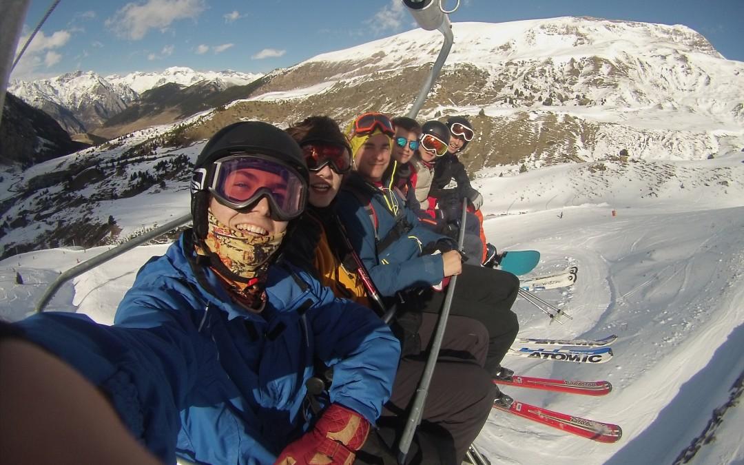 Convivencia de esquí 2016