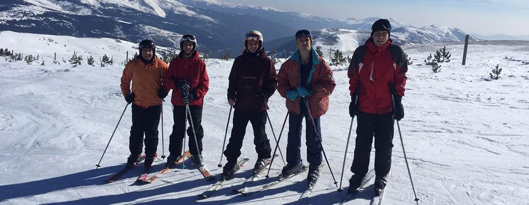 Convivencia de esquí en La Molina