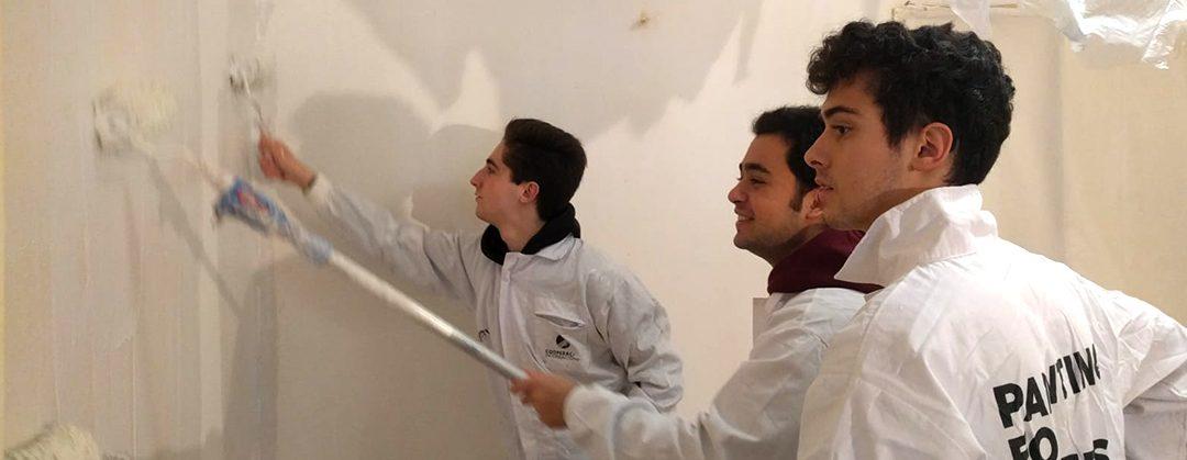 Painting for others, pintura y acondicionamiento de viviendas de familias necesitadas